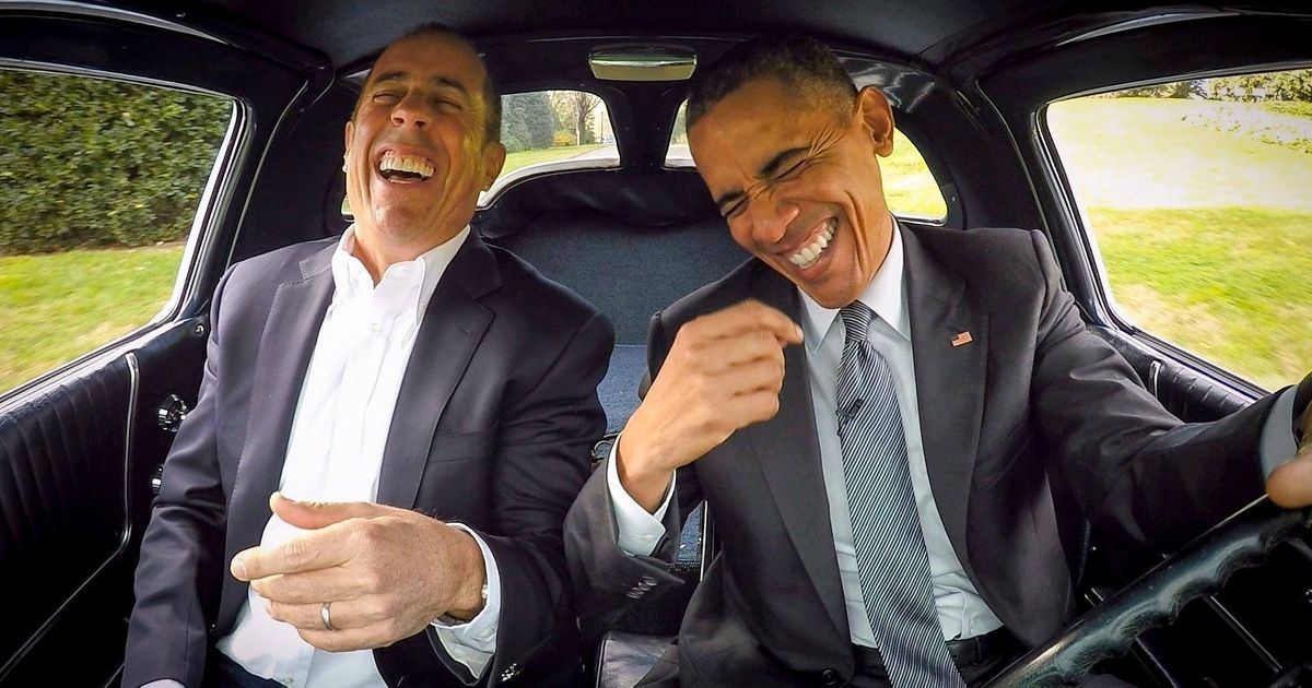 Seinfeld: Driving With Obama Is 'Greatest Moment' Of My Life