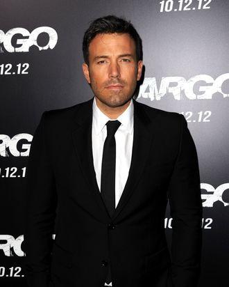 Actor/director/producer Ben Affleck arrives at the premiere of Warner Bros. Pictures'