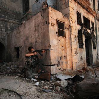 Syria conflict in Aleppo