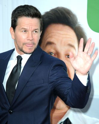 Actor Mark Wahlberg arrives for the movie premiere TED presented by Universal Pictures and MRC at Grauman's Chinese theatre on June 21, 2012 in Hollywood, California.