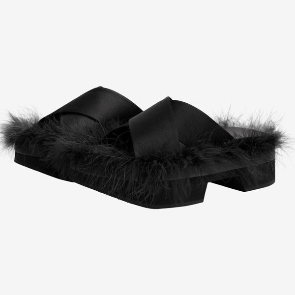 Simone Rocha x H&M Feather Slides