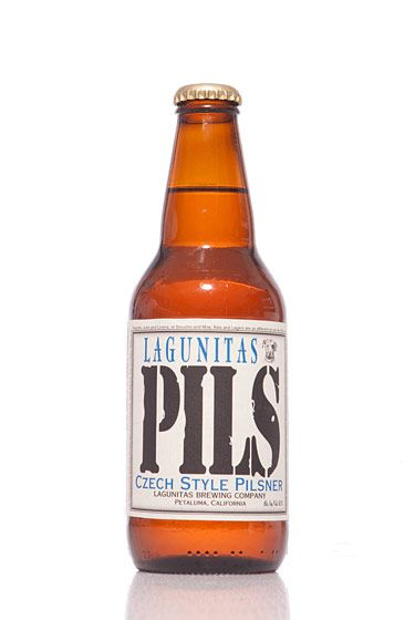 "Lagunitas Brewing Company (California)<br>$2.29 for 12 oz. <br><strong>Type:</strong> Czech Pilsner<br><strong>Tasting notes:</strong> ""A crisp, light, refreshing pilsner that goes perfectly with barbecued meats. The ultimate burger beer."" <br>—David Cichowicz, owner, Good Beer NYC<br> <br>"