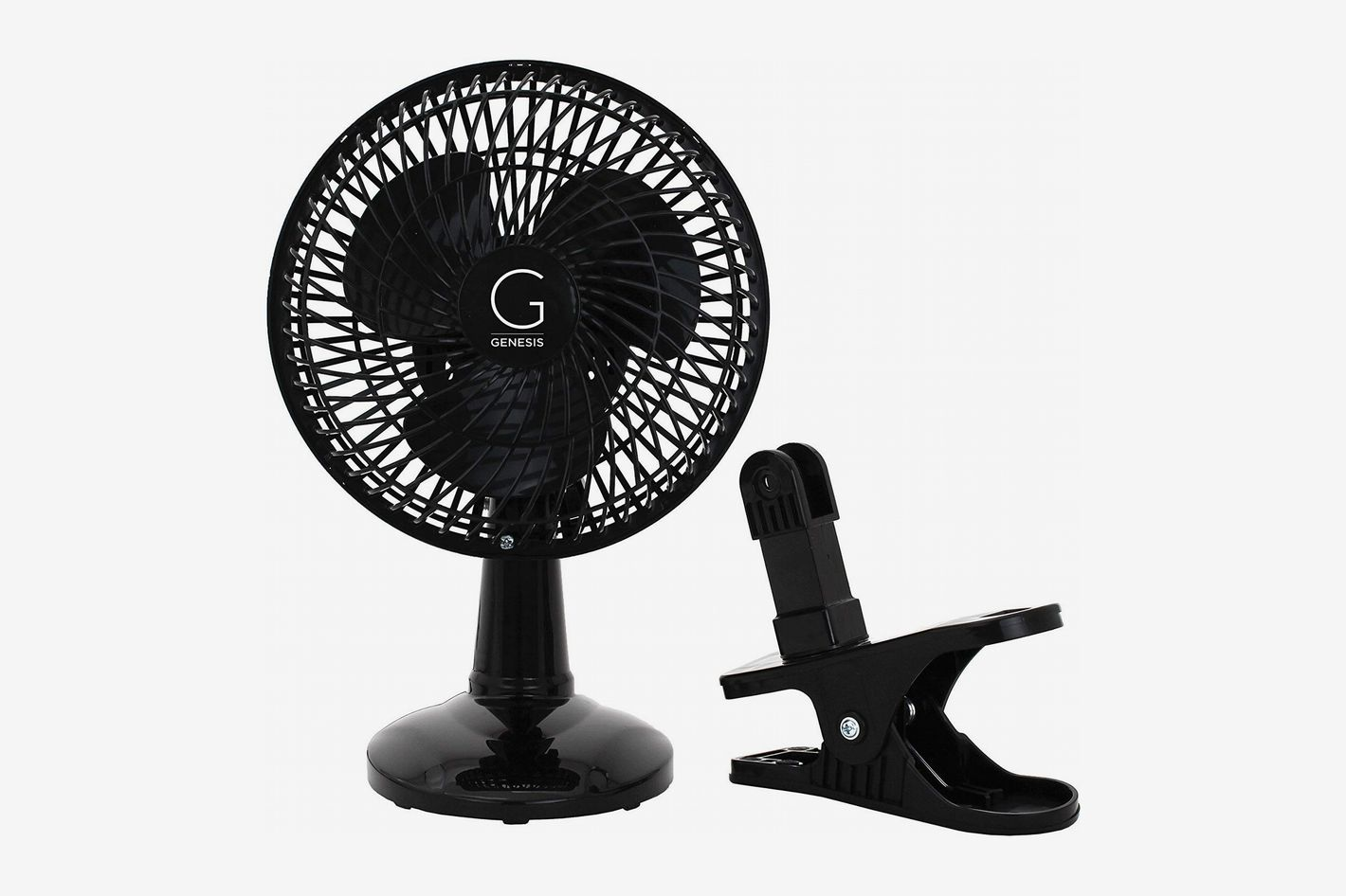 Genesis 6-Inch Clip Convertible Table-Top and Clip Fan