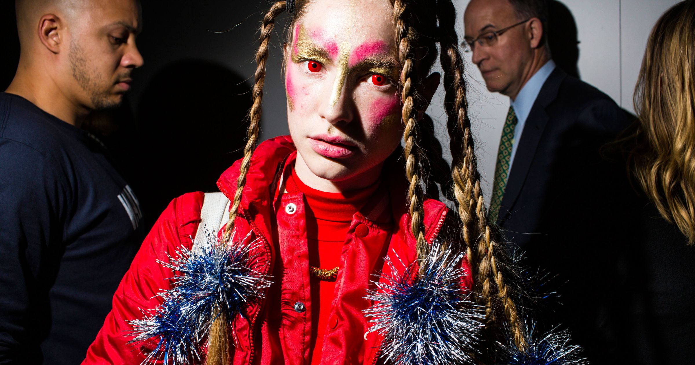 Inside Hood by Air's Big, Creepy MoMA Party