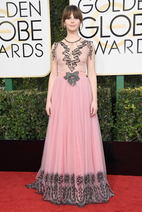 Photo 5 from Worst Princess-y Moment: Felicity Jones in Gucci