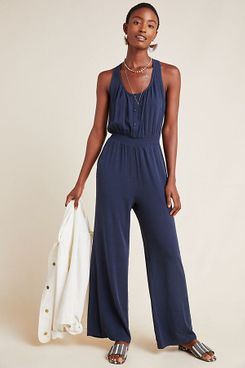The Odells Ink Wide-Leg Jumpsuit