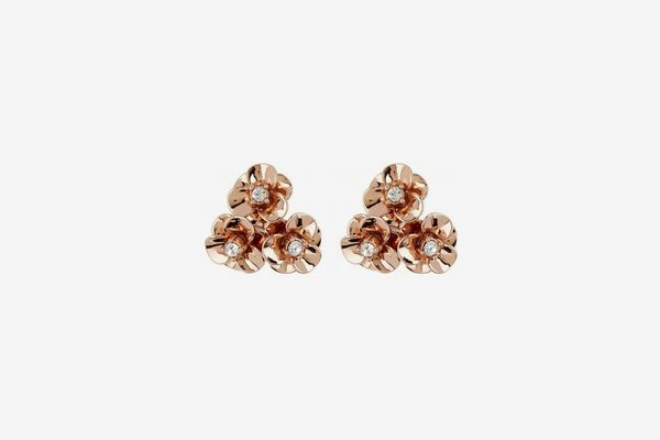 Kate Spade New York Flower Cluster CZ Stud Earrings