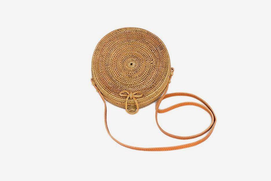 Seagrass Woven Bali Handbag Straw Bag