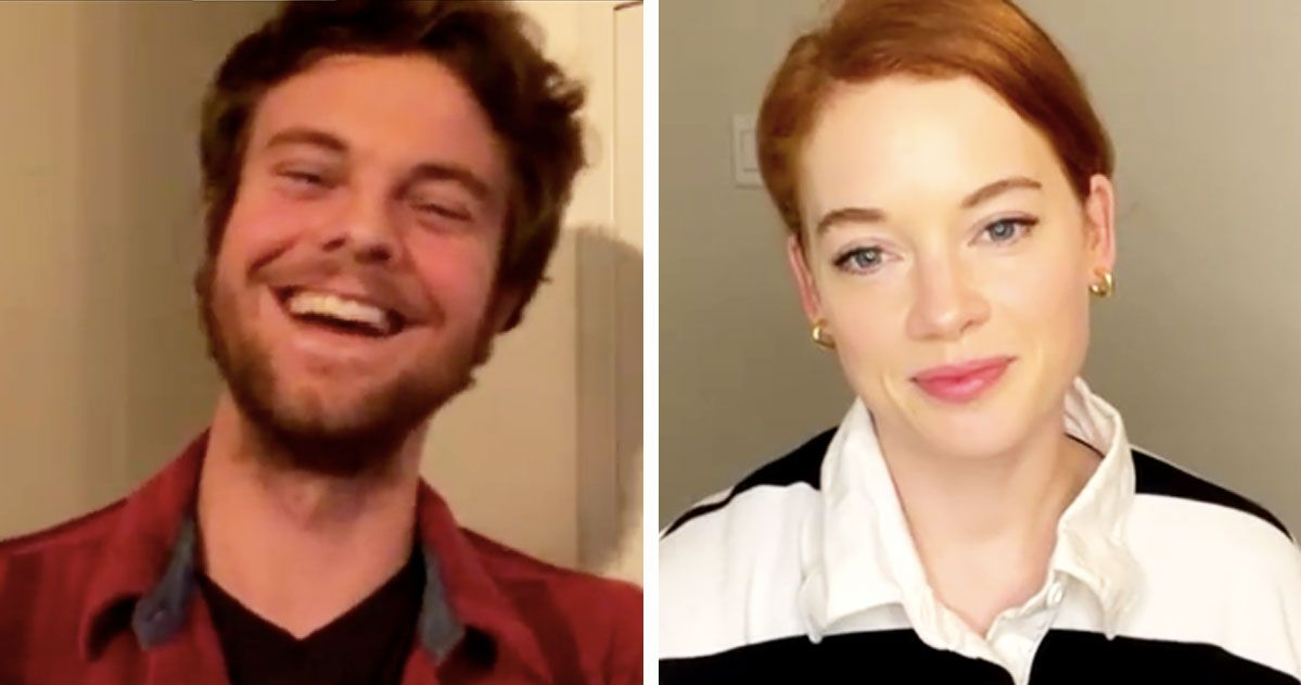 Jane Levy Gently Informs Jack Quaid That He's a Hottie
