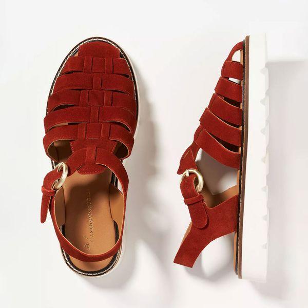 Anthropologie Fisherman Sport Sandals