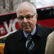 NEW YORK, NY - DECEMBER 20: Brother of convicted Ponzi king Bernard Madoff ,67-year-old Peter Madoff, arrives at U.S. District Court in Manhattan on December 20, 2012 in New York City. A plea agreement makes a 10-year prison term all but certain for Madoff who was convicted after he pleaded guilty to conspiracy and falsifying books and records of an investment adviser. (Photo by Spencer Platt/Getty Images)