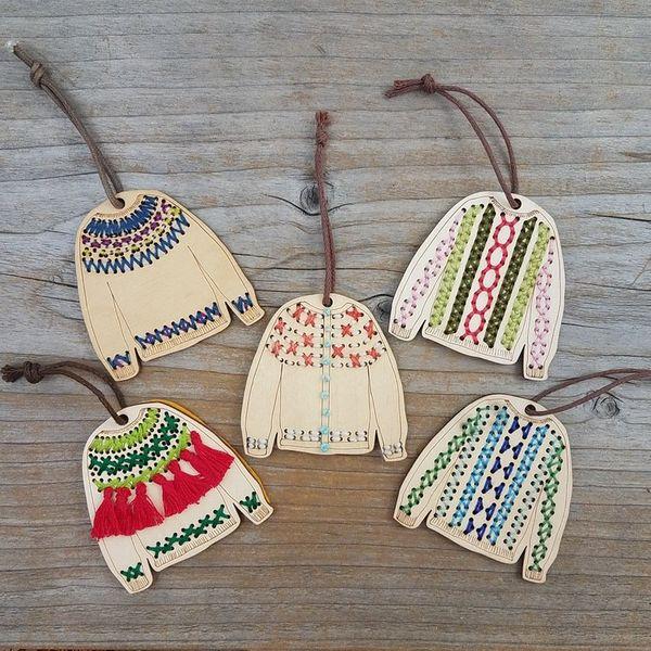 Katrinkles Sweater Ornament