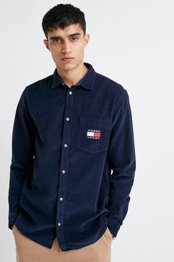 Tommy Jeans Corduroy Long-Sleeve Shirt