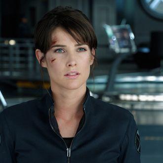 """Marvel's The Avengers""Maria Hill (Cobie Smulders)Ph: Film Frame ? 2011 MVLFFLLC. TM & ? 2011 Marvel. All Rights Reserved."
