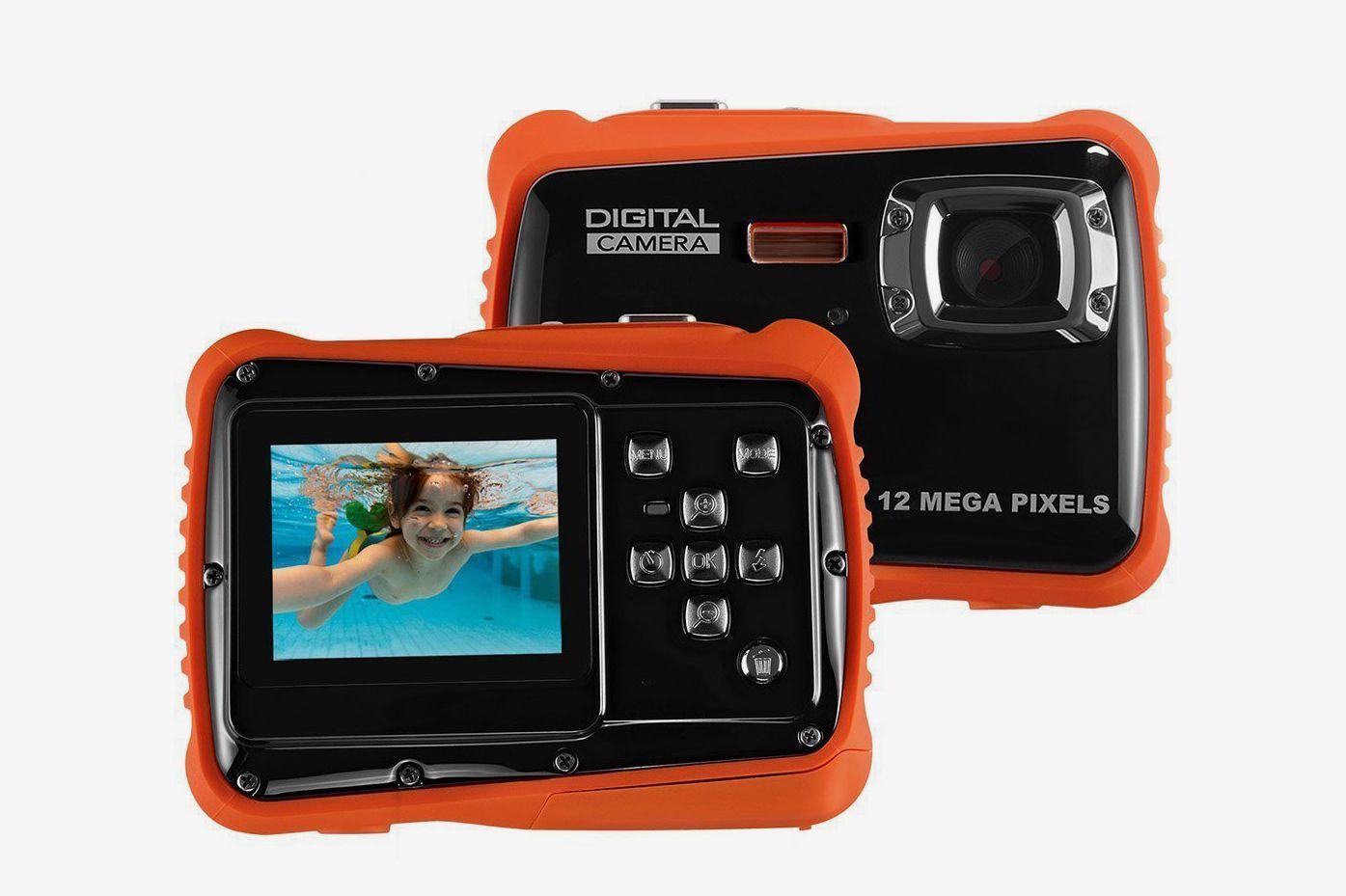 Linnnzi Waterproof Digital Camera for Kids
