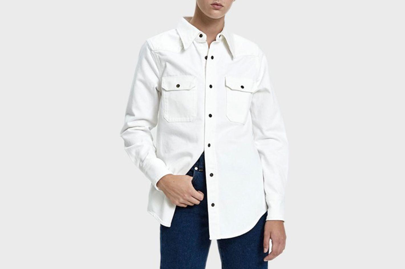 Calvin Klein Jeans EST. 1978 Denim Western Shirt