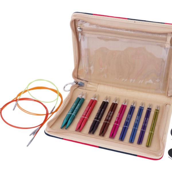 Knitter's Pride Zing Deluxe Interchangeable Needles Set