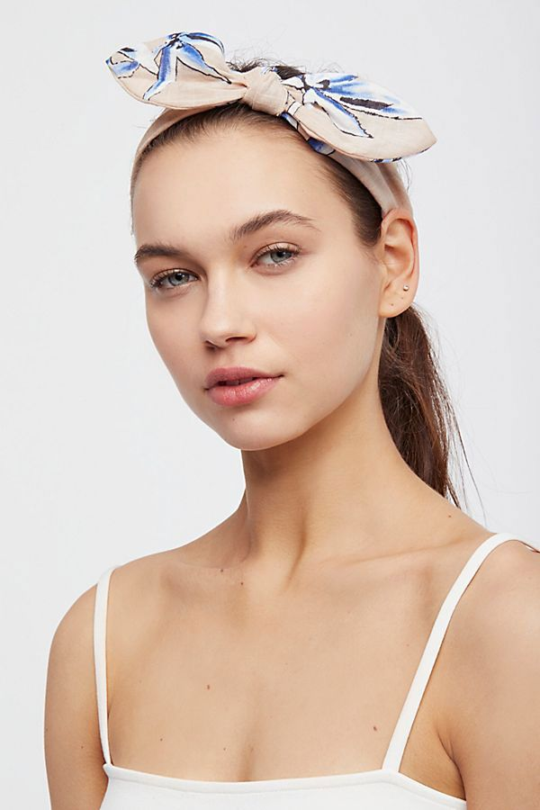 Free People Riviera Bow Headband