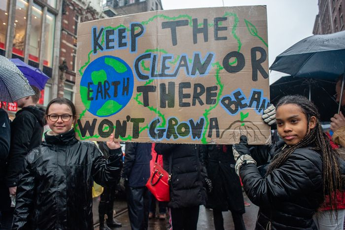 Climate strike in the Netherlands.