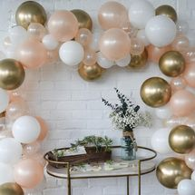 Celebrated Party Custom Balloon Garland Kit, Pump Included