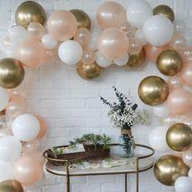 Kit de guirlande de ballon personnalisé Celebrated Party, pompe incluse