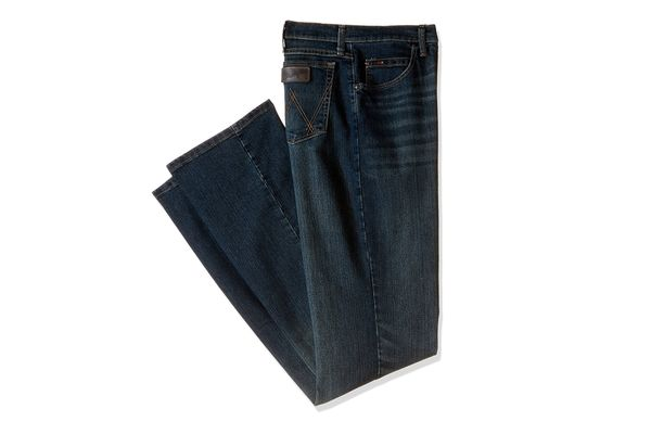 Wrangler Men's Tall 20X Advanced Comfort Competition Slim Fit Root Beer Jean