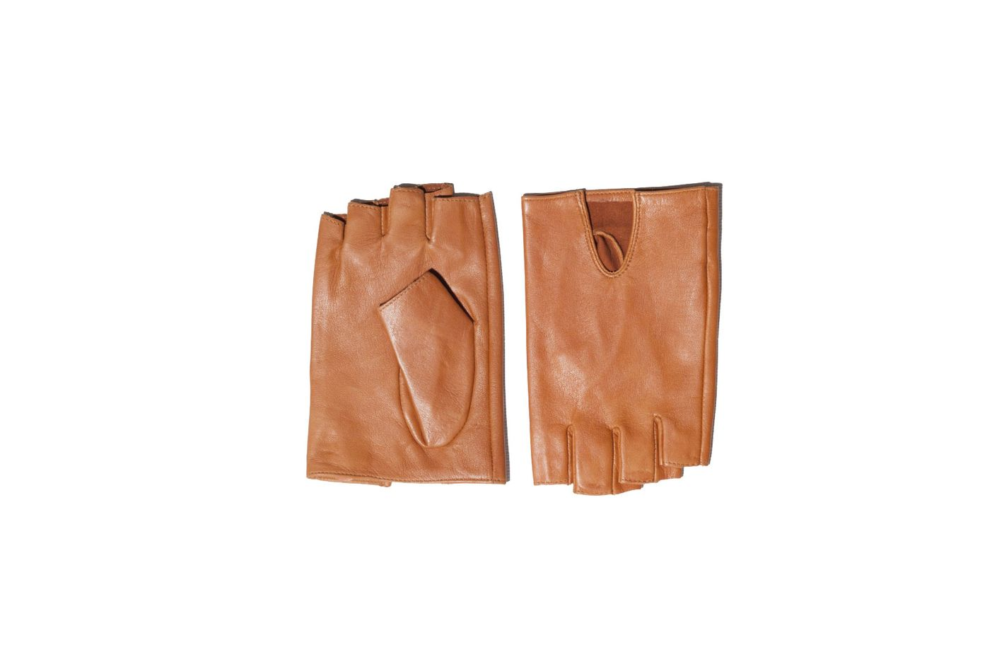 & Other Stories Fingerless Leather Gloves