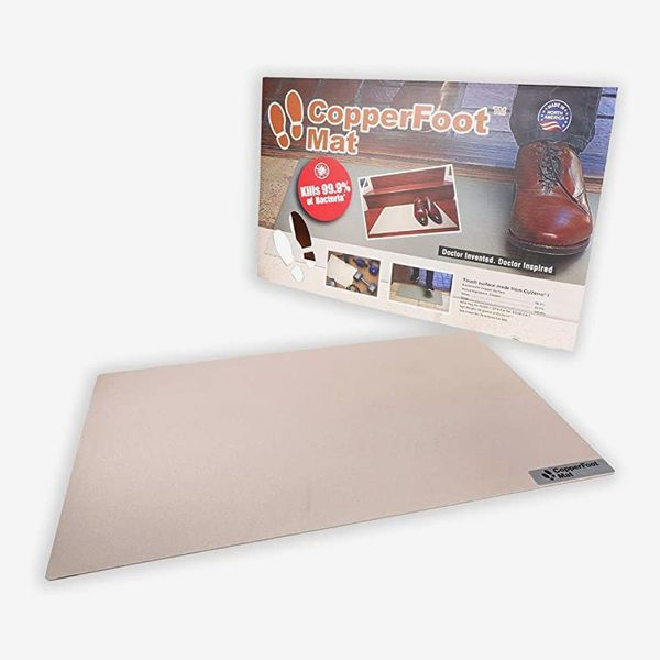 CopperFoot Real Copper Antibacterial Floor Mat