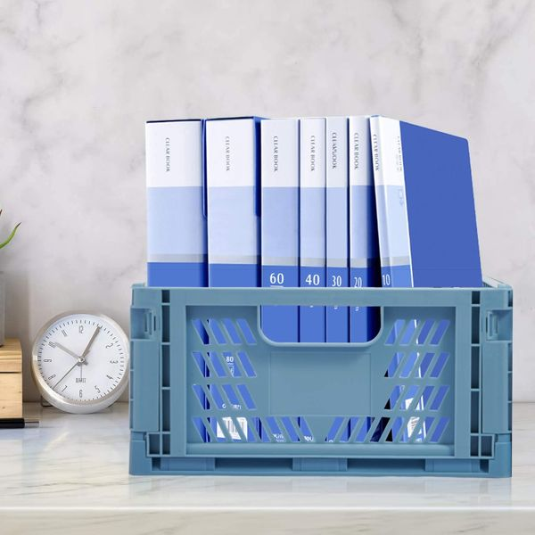 4 Pack Plastic Storage Crates