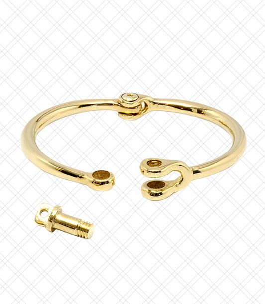 "Elegant and streamlined, this cuff chortles at ""statement jewelry.""  <i>$170 at <a href=""http://www.miansai.com/shop/Reeve.html"">MIANSAI</a></i>"