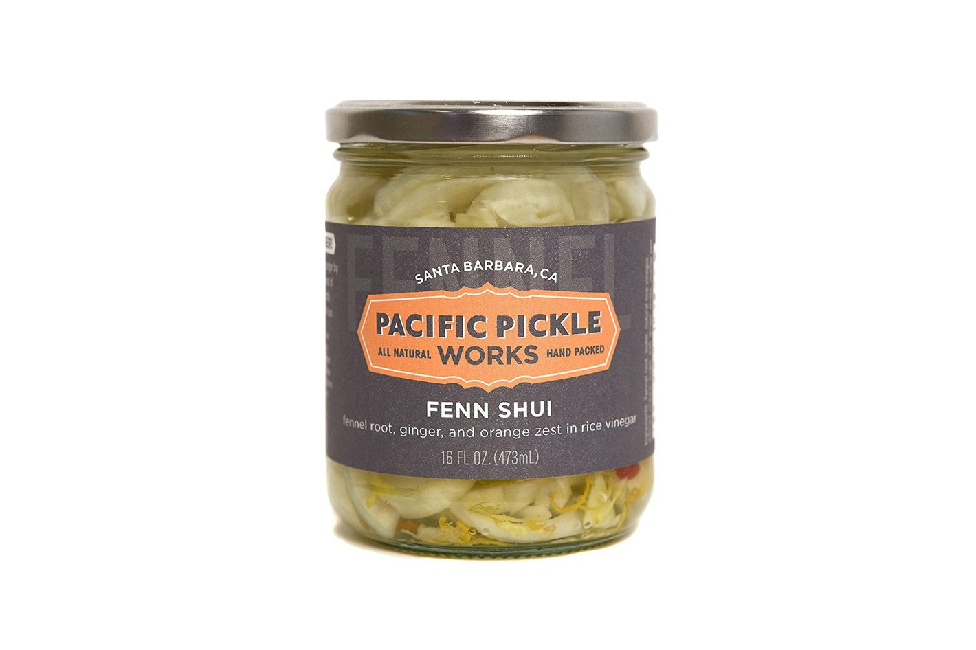 Fenn Shui — Pickled Fennel Root in Rice Vinegar, Ginger, Thai Chile