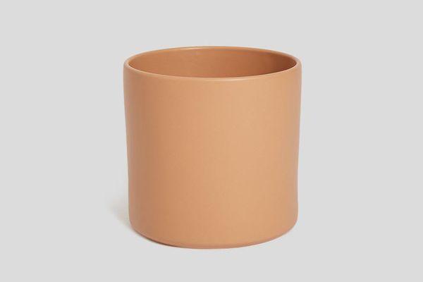 "Norden 10"" Ceramic Planter in Terracotta"