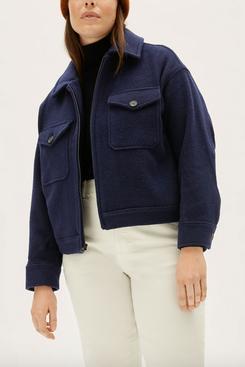 Everlane The Wool Mackinaw Jacket
