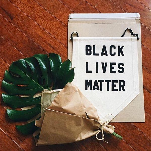 Rayo & Honey Black Lives Matter Wall Hanging