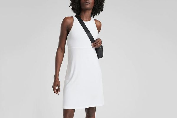 Athleta Reversible Santorini High Neck Dress