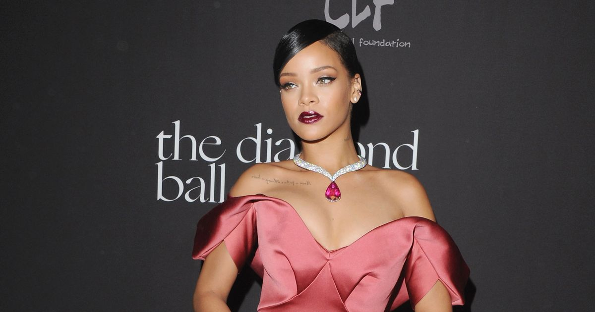 Rihanna Wore Two Ball Gowns