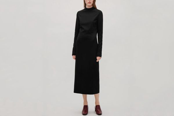 COS Fitted Jersey Dress