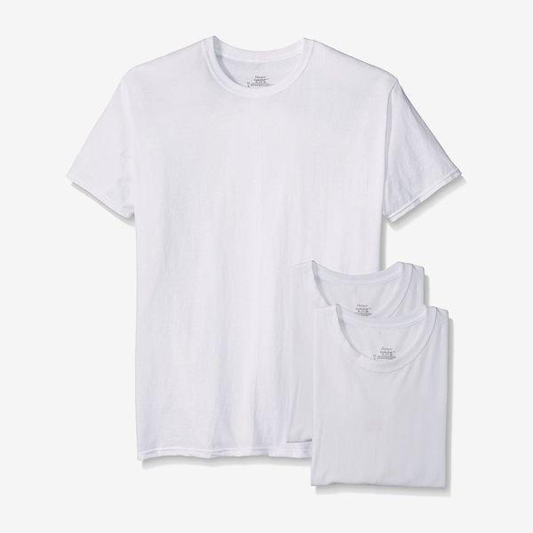 Hanes Men's Crew Neck T-Shirt, 3-pack