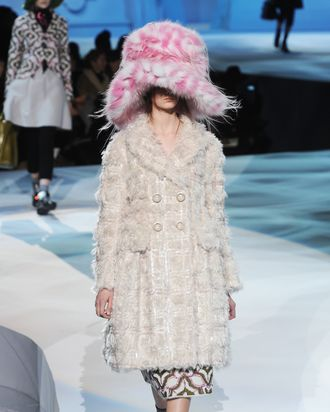 Hasbrook for Marc Jacobs fall 2012.