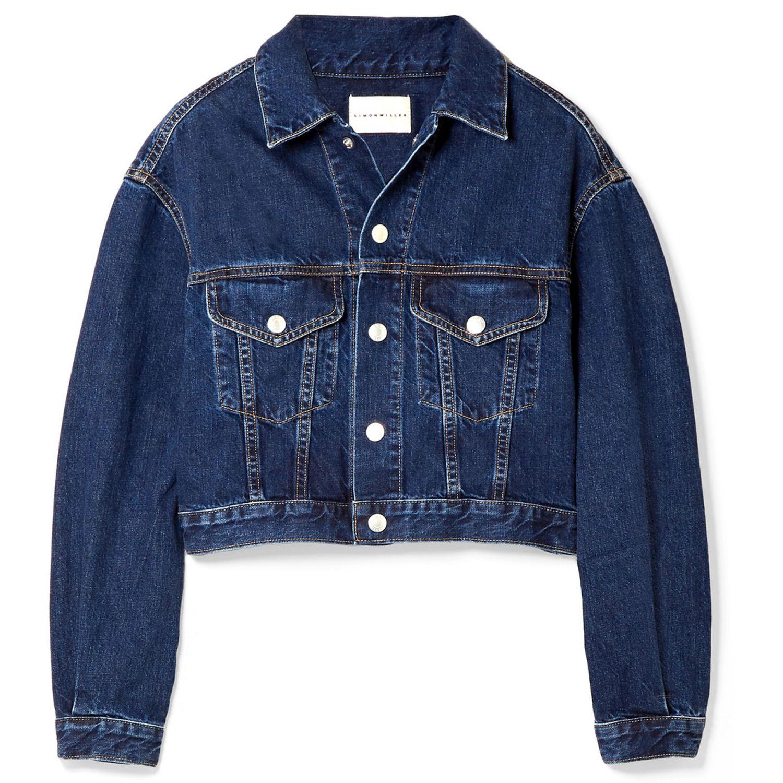 Toluca cropped denim jacket