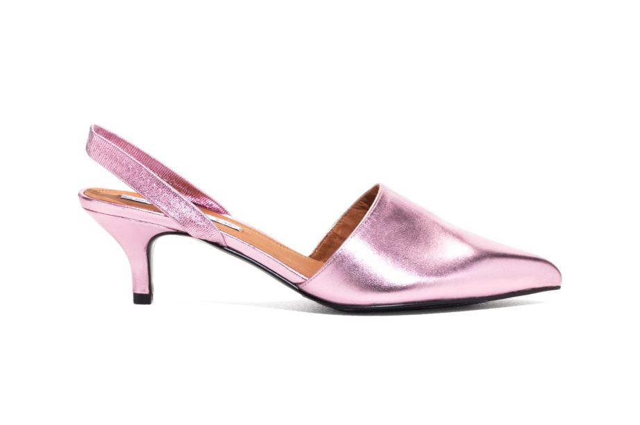 9 Best Pairs of Cute Kitten Heel Pumps and Slingbacks