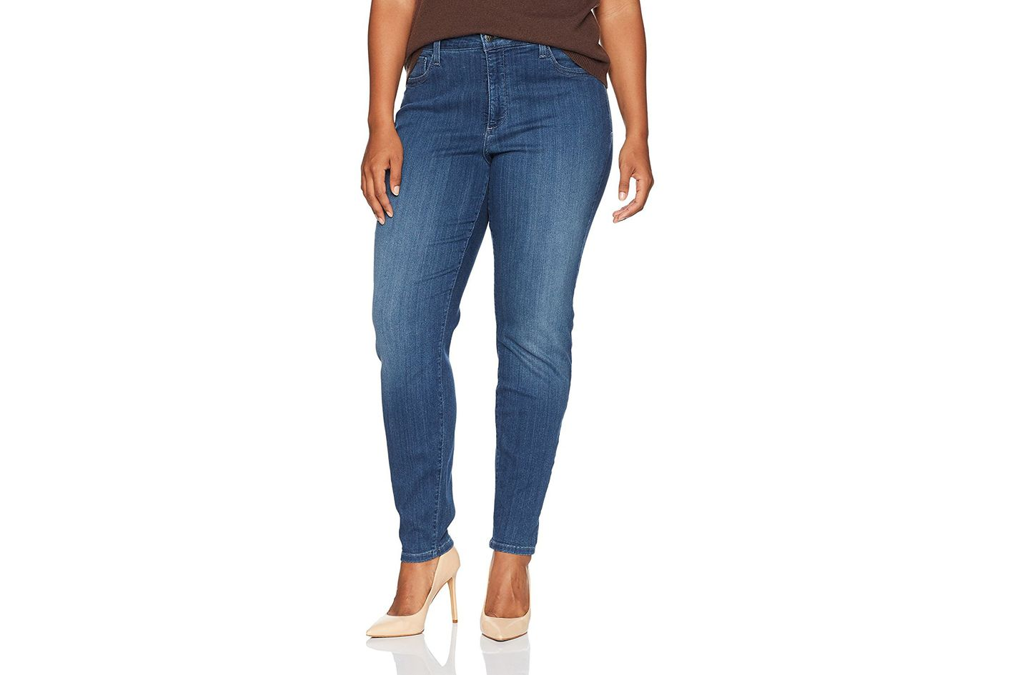 ff05febdf5 Best small-waisted plus-size jeans. NYDJ Women s Plus Size Ami Super Skinny  Jeans. ""