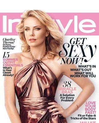 Charlize Theron for <em>InStyle</em>.
