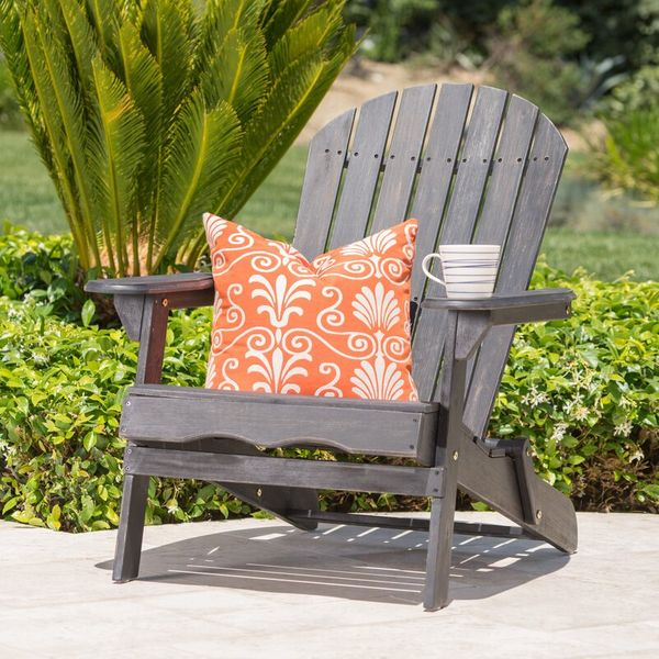 Birch Lane Heritage Ridgeline Solid Wood Folding Adirondack Chair