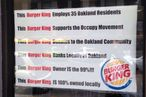 California Burger King Operator Proudly Identifies With Occupy Movement