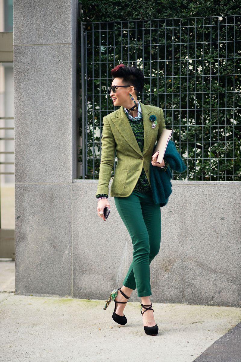 Esther Quek Street Style Milan Men 39 S Fashion Week The Cut