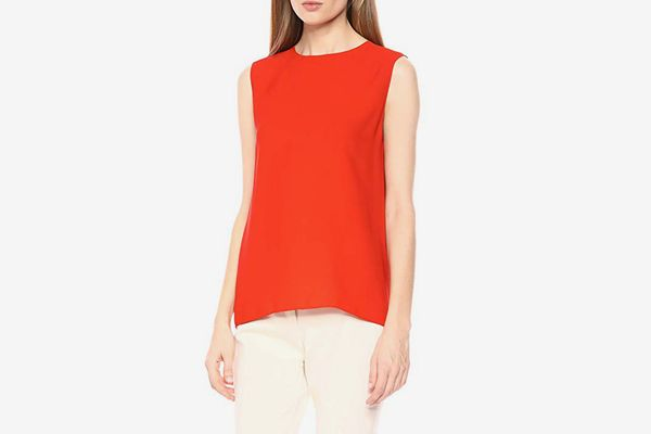 Theory Women's Sleeveless Continuous Shell