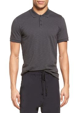 Vince Slim Fit Slub Jersey Polo