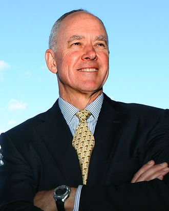 Sandy Alderson, general manager for the New York Mets.