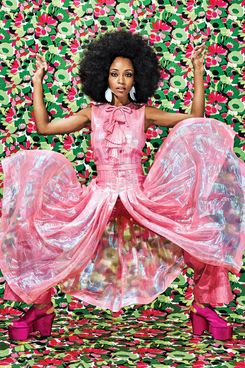 The model for our maximalism: Yaya DaCosta.